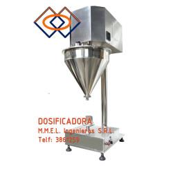 Maquina  Dosificadora de Polvos con Tornillo Manuales y Automáticas