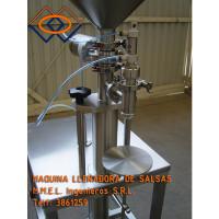 Maquina Llenadora-De Salsas y Otros-Productos Cremosos y Pastosos