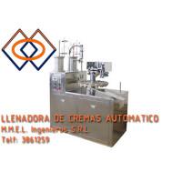 Maquina llenadora de cremas automatico